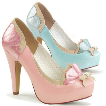 Bettie-20, 4.5 Inch Pump with Pearl Bow