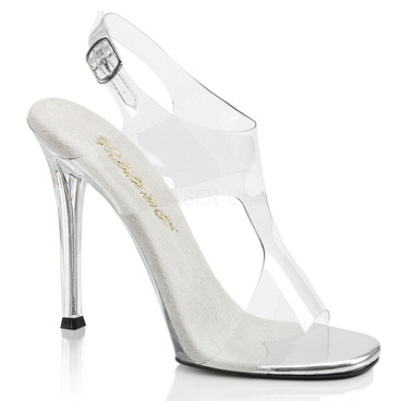 Gala-07, 4.5 Inch Heel Sling back sandal with Cutout