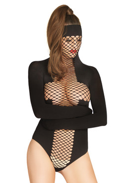 KI4022, Opaque and Net Masked Teddy