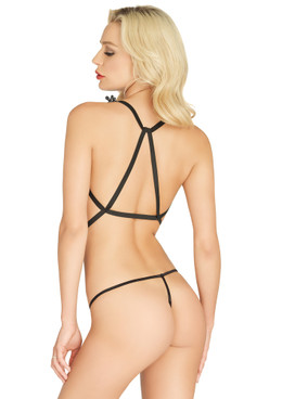LA81537, Body Harness with G-string