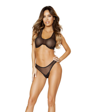 LI161, Sheer Top and Bottom