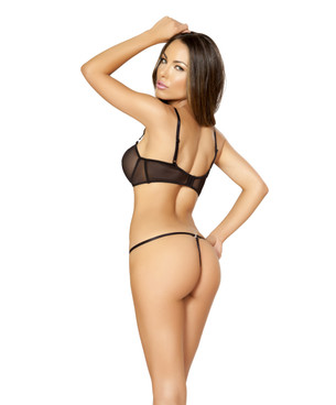LI163, 2 pc Mesh Top and Panty