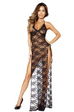 LI205, Long Lace Dress