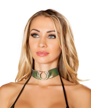 R-3490, Iridescent Color Choker