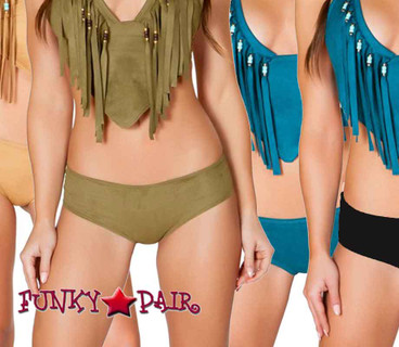 JV-FF691, Rave Faux Suede Basic Short color available: black, teal honey, olive