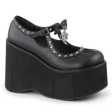 Skulls Platform MaryJane Demonia Shoes   Kera-14,