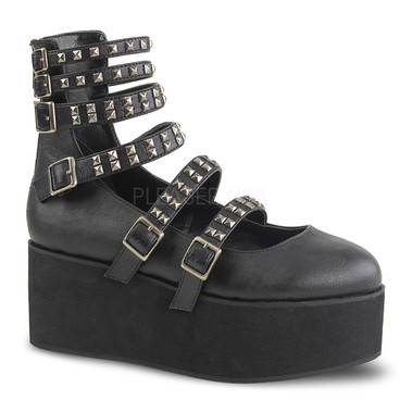 Grip-31, 2.75 Inch Platform Maryjane with Multi-Straps