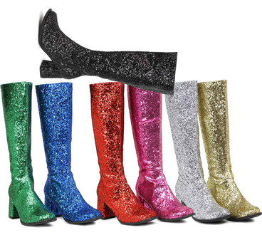"3"" Glitter GOGO BOOTS Ellie Shoes 