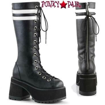 Demonia | Men Ranger-320, Platform Knee High Boots