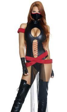 FP--557779, Sexy Ninja Costume