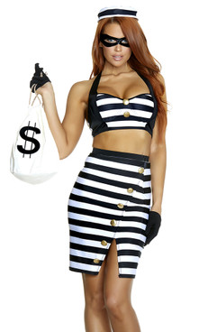 FP--557749, Sexy Robber Costume