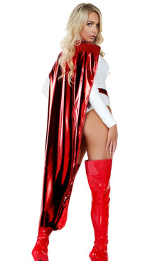 FP--995104, Metallic Red Cape