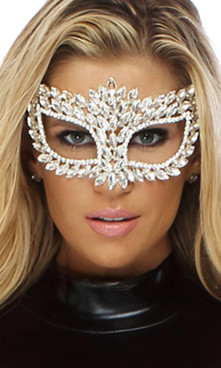 FP--995108, Jewel Cat Eye Mask