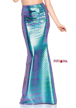 86710, Iridescent Scale Mermaid Skirt