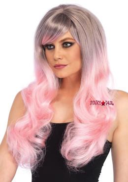 A1531, Pastel Long Wavy Wig