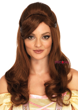 A1528, Brown Long Wig