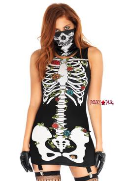 86661, Skeleton Garter Dress