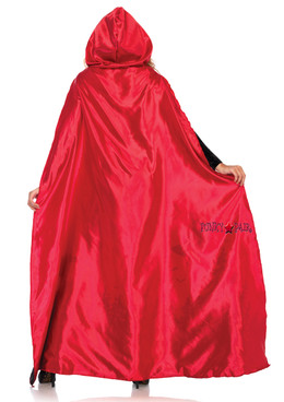 LA-2801, Satin Red Cape