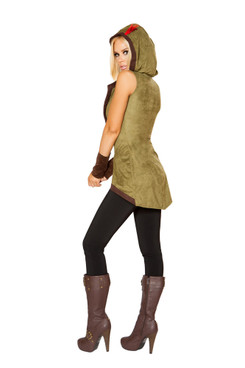 R-10109, Womens Hooded Outlaw Costume
