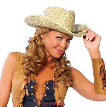 R-4029, Cowgirl Straw Hat