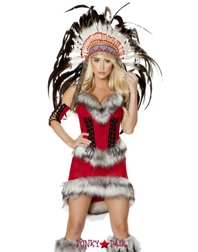 R-4705, Native American Costume By Roma