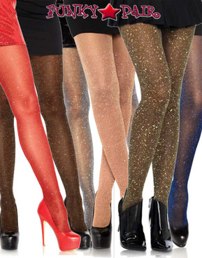 Leg Avenue | LA7130, Lurex Shimmer Sparkle Tights
