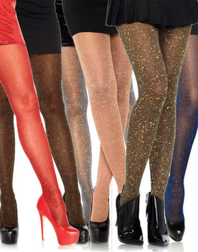 Lurex Shimmer Sparkle Tights by Leg Avenue | LA7130