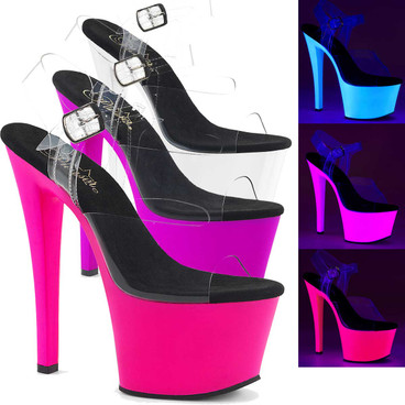 Stripper Shoes Sky-308UV  UV Reactive