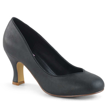 Flapper-40, Round Toe Pump | Pin-Up Couture Shoes