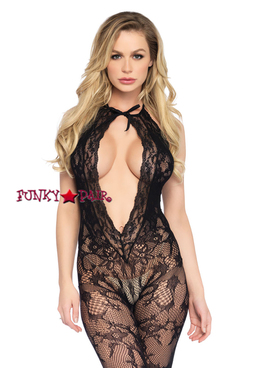 LA89221, Lace Keyhole Bodystocking