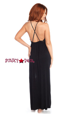 SE8892, High Slit Long Dress