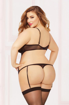 STM-10846X, Cutout Back Teddy
