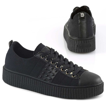 Sneeker-107, Men's Creeper with Studds Demonia