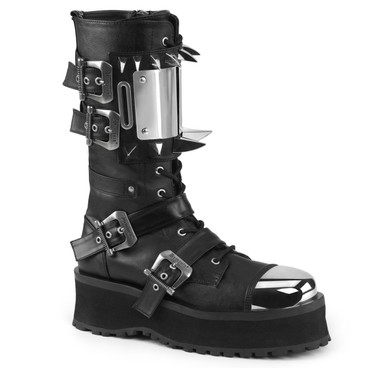 Gravedigger-250, Punk Ankle Boots Demonia   Men