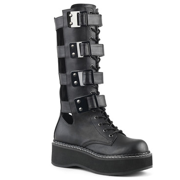 Women's Demonia Emily-359, Platform Knee High Boots