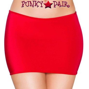 Rave Dancer Mini Skirt | Roma R- SK105 Color Red