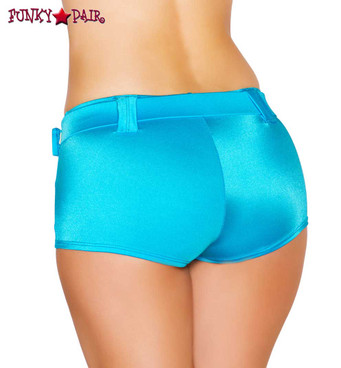 Rave Shorts | Roma R-SH101 color turquoise back view