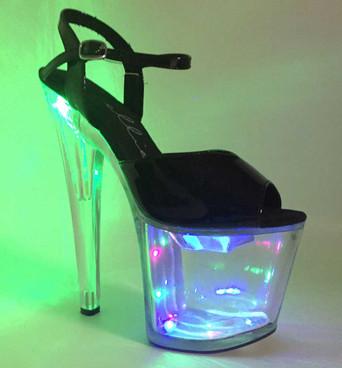 """Ellie Shoes   821-Londyn 8"""" Lite up Dancer Shoes"""