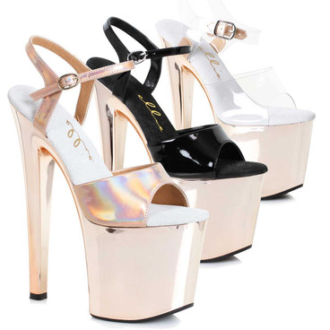 "Stripper shoes 8"" Dancer Platform Sandal  821-Bria Ellie Shoes"