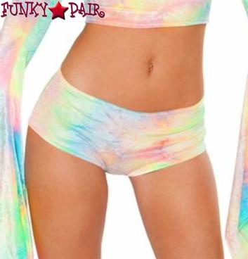 J Valentine | Velvet Shorts Rave Wear JV-FF117 Color Pastel