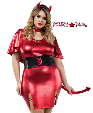 Starline Costume | S8019X, Plus Size Devilish Beauty
