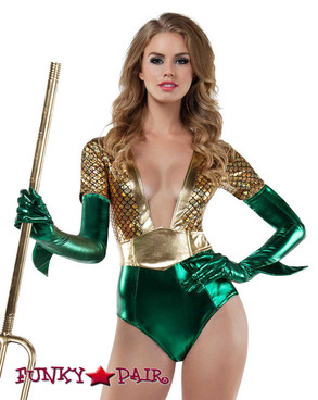 Starline | S8033, Atlantis Queen Romper Costume Front View