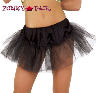 Black Petticoat Costume Accessories Roma | R-1290