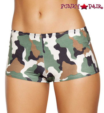 Camouflage Boy shorts Roma Costume | R-SH225 front view