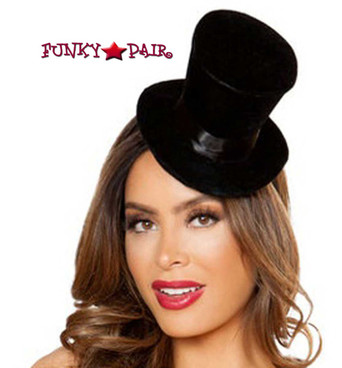 Black Top Hat Costume Accessories Roma | R-4835