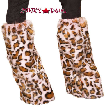 Pink Leopard Boot Cover Roma | R-4889