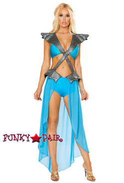 Roma Costume | R-4787, Mother of Dragon front view