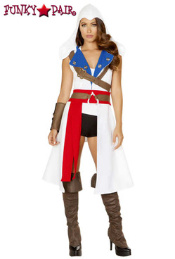 Roma Costume | R-4843, The Assassins Protector full view