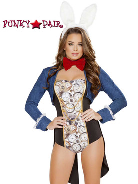 Jittery Rabbit Romper Costume Roma | R-4730 close up view