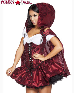 Roma Costume | R-4616, Lusty Lil' Red